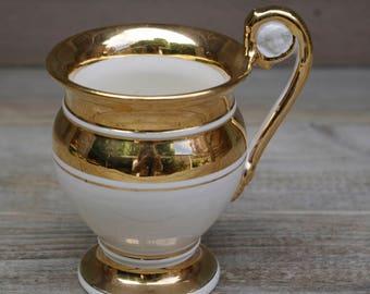 Porcelain Italy Pitcher Vase