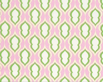 Heather Bailey Cotton Pocketbook in Rose from The Nicey Jane Collection 1/2 yard