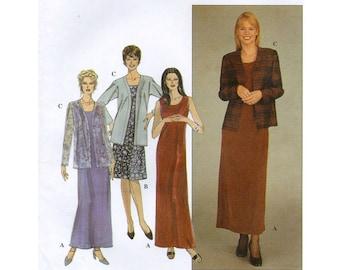 Simplicity Pattern 8937 Misses Miss Petite Dress and Jacket Size KK (8-10-12-14)