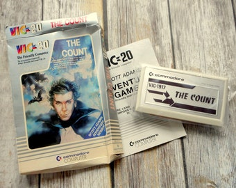 The Count VIC 20 Commodore Vic 1917 Program Retro 1981 SEALED Transylvania Vampire