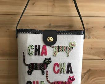 New design! Bucket Bags, Cha Cha Cha Kitty