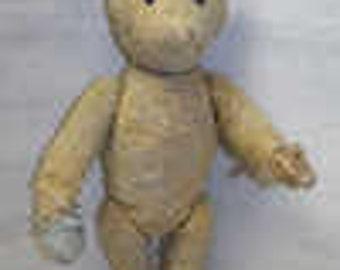 Vintage Primitive Mohair Teddy Bear
