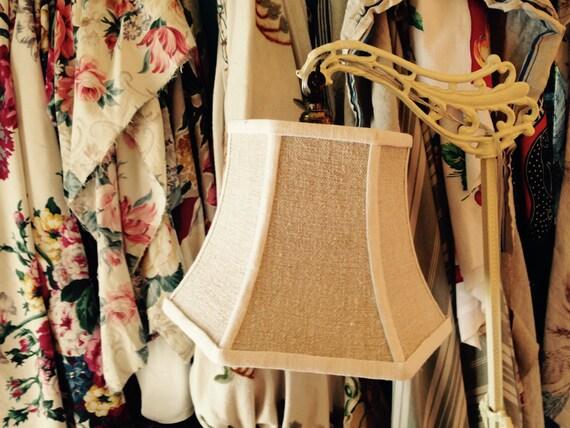 grain sack uno lampshade threaded lamp shade bridge lamp. Black Bedroom Furniture Sets. Home Design Ideas