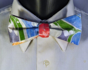 Warm and Cool Color Self Tie Bow Tie Made in Asheville, NC!! MM#15-38