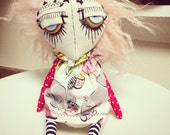 Dandy Trudy Lou jointed art doll by Jen Musatto