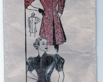 1930s or 1940s blouse pattern number 2635 Bust 32