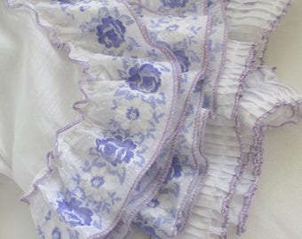 Vintage Curtains * Shabby Cottage Chic * Old Farmhouse