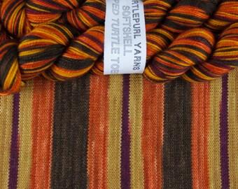 Serenity - Hand-dyed Self-striping MCN sock yarn
