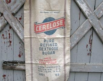 Cerelose sugar bag New York USA