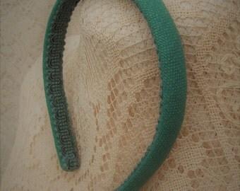Seafoam Green Headband Cotton