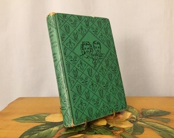 Bobbsey Twins at Windmill Cottage by Laura Lee Hope Book Vintage Green Hardcover Children's Book