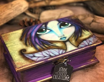 The Grumpy Faerie - Jewelry Box