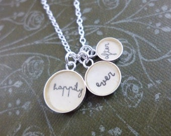 Happily Ever After Small Charm Pendant