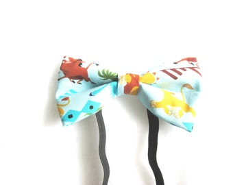 Lion King Inspired Elastic Bow Tie