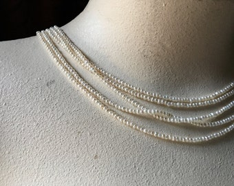 Pearls Freshwater 2.5 - 3mm Natural White for Bridal, Embroidery, Jewelry  PRL