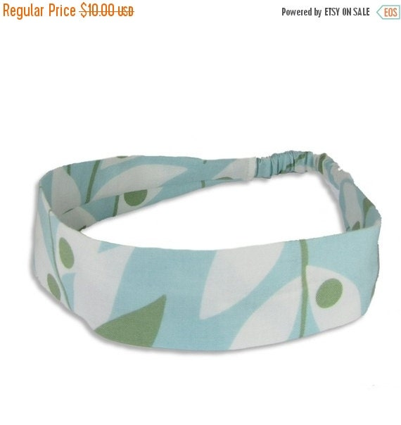 "40% off Fabric Headband - Lindy Leaf- Pick your size - fit toddlers to adults - 1-1/2"" wide"