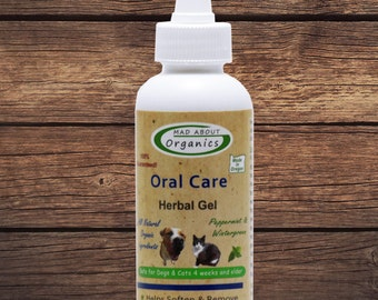 Herbal Gel Oral Treatment for Dog or Cat