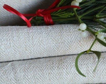 R 533:  handloomed antique linen plain,PALE OATMEAL 17.26yards 리넨 french lin curtain panel;  wedding, tablecloth, upholstery, roman blinds