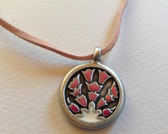 Pink FlowerNecklace