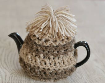 Shaggy Crochet Tea Cosie Fits 1-2 cup