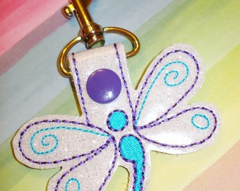 BUTTERFLY  KEY CHAIN   Fun and Functional Gift for Mom Teachers and Butterfly Lovers