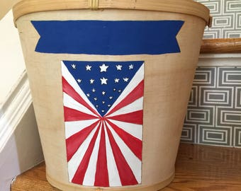 Memorial Day July 4th Decor/party favor holder