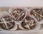 Triple Chocolate Covered Oreos Gift BOX of 8 CHOCOLATE COOKIES Free Greeting Card Get Well Gift Edible Gift Sweet Tooth