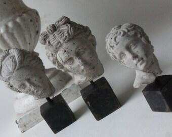 three mini heads