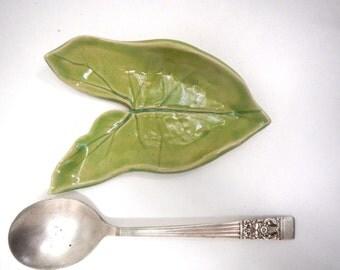 Key Lime Spoon Rest/Soap Dish/Trinket Dish