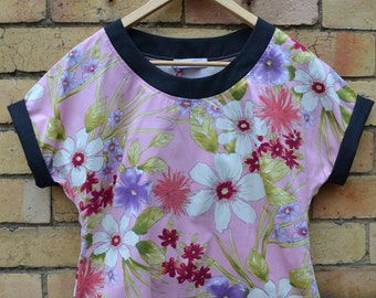 Pink Watercolour Shell top