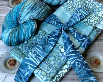 Turtles in the Tidepool Gift Set ~ matching yarn and needle case