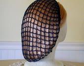 Navy Snood Hair Net
