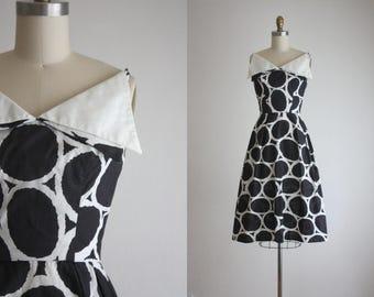 1950s lattice dress