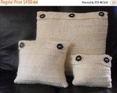 HALF PRICE SALE digital pdf download-madmonkeyknits Superfast Horizontal Stripes Cushion / Pillow Cover Set pdf download knitting pattern
