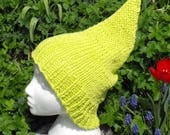 50% OFF SALE Instant Digital File pdf download Superfast Garden Gnome Slouch pdf knitting pattern