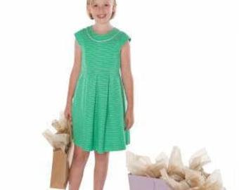 Children's Corner Sewing Pattern Julia Dress Sizes 7-14