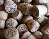 Reserved for Veronica 75 Champagne Corks For Crafts DIY Wedding Place Card Holders High End Cork