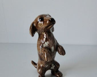 Vintage Cute Ceramic Hound Dog