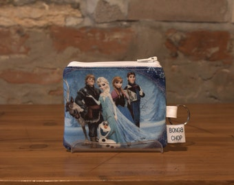 Frozen Mini Wallet with ID Holder