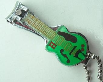Guitar Nail Clipper on a chain
