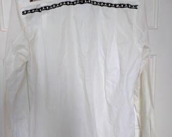 comme des garcons shirt punk bondage studs metal small men grunge 90s