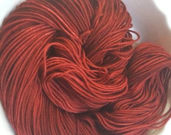 The Tell-Tale-Heart -- Decadent -- Hand Painted Superwash DK Merino Wool Yarn
