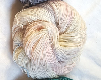 Something New --Classic Sock-- Hand Painted Superwash Merino Wool/Nylon Sock Yarn