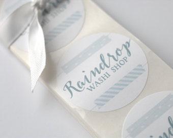 Custom Stickers | Logo Design Label | Packaging |  Branding | Circle Labels | Professionally printed labels | Fun packaging | Labeling|Brand