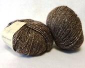 Reserved for Mari - Stash Sale - Rowan Felted Tweed Yarn, Yarn, Wool Yarn, Alpaca Yarn, Brown Yarn, Brown Wool Yarn, Sale Yarn - 2 Balls