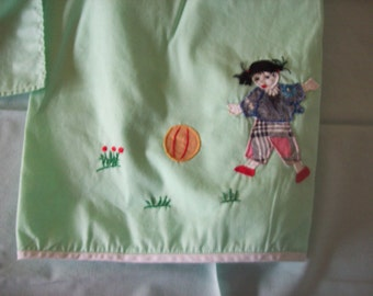 Cardtable Cloth Apron and 4 Napkins Chinese Design