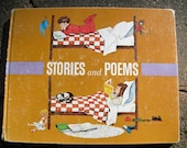 Vintage Children's Book Stories and Poems First Adventures In Learning Program Book
