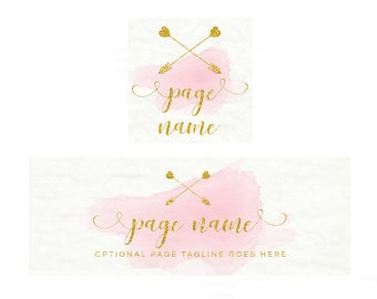Facebook Banner - Timeline Cover and Profile Picture - Facebook Timeline Cover - Watercolor Cover - Social Media Cover - Watercolor 9-16