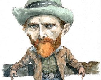 Van Gogh Cowboy