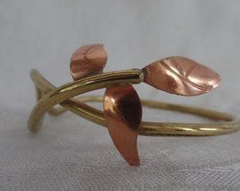 Bronze and Copper Designer Chris Anderson Cuff Bracelet